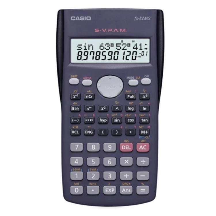 CALCULADORA CASIO FX 82 MS 24O FUNCIONES