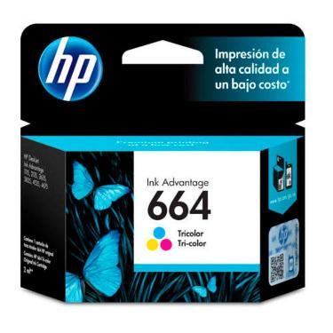 CARTUCHO HP 664 TRICOLOR
