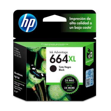 CARTUCHO HP 664XL NEGRO