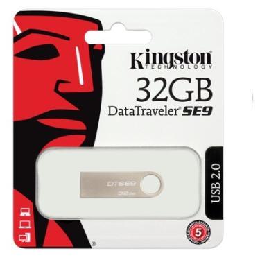 PENDRIVE KINGSTON 32GB DTSE9 MINI METALICO