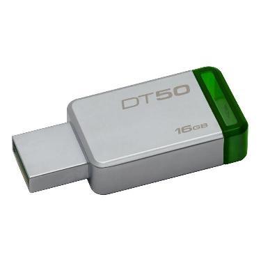 PENDRIVE KINGSTON 16GB DT50 VERDE