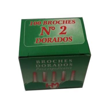 BROCHE MARIPOSA DORADO Nº 2